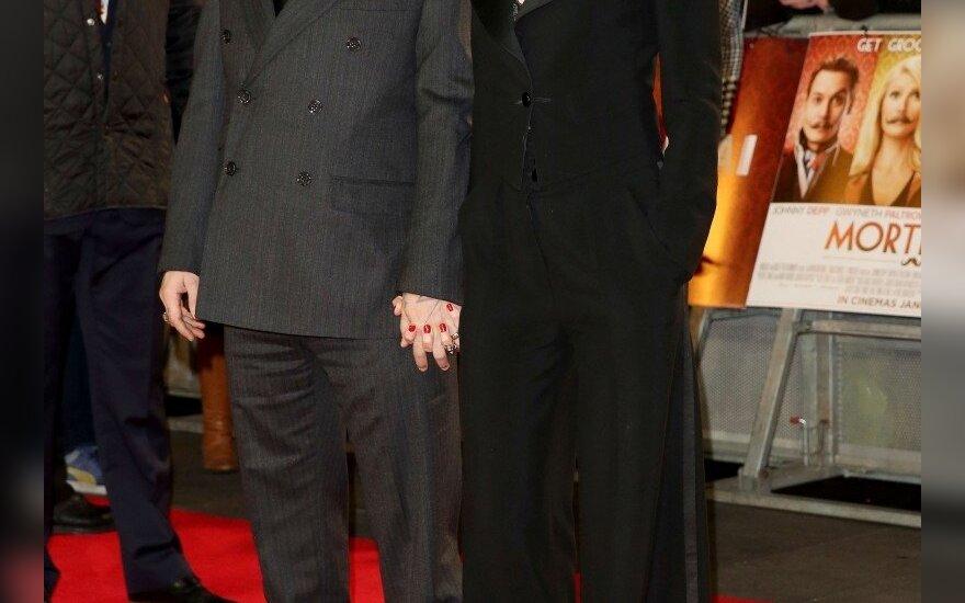 Johnny Deppas ir Amber Heard