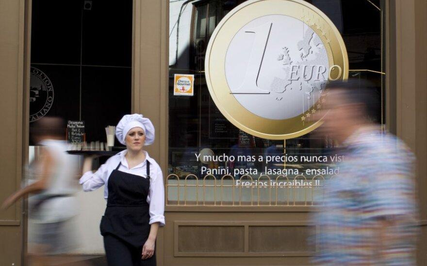 Investuotojai džiaugėsi euro zonos šalių ekonominiais duomenimis