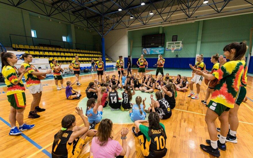Lietuvos moterų krepšinio rinktinės stovykla