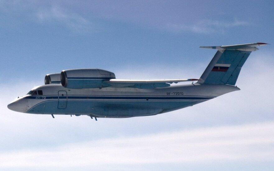 Rusijos karinis transporto lėktuvas pažeidė Estijos oro erdvę