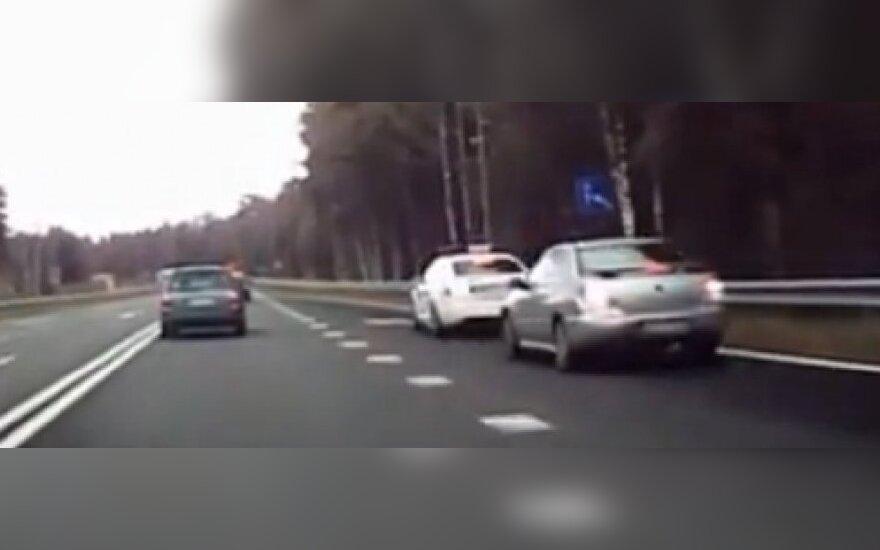 Latvijos policija sustabdė lietuvius