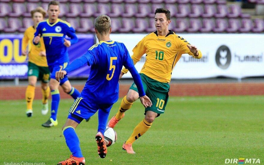 Futbolas: Lietuva U19 – Bosnija ir Hercegovina U19
