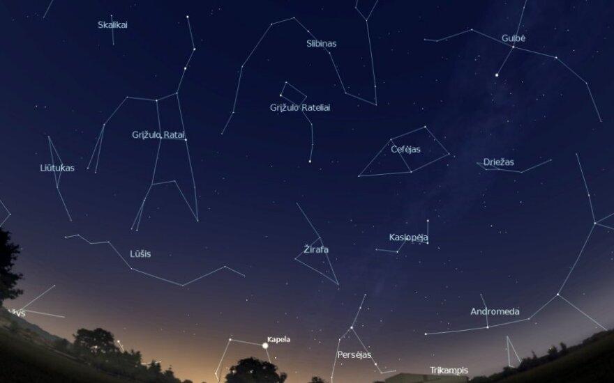 Vega – būsima Šiaurinė žvaigždė
