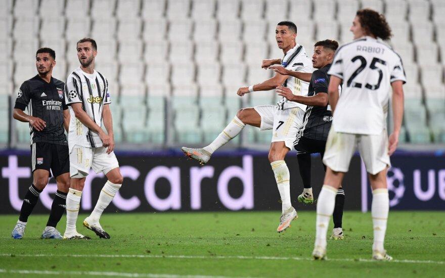 """UEFA Čempionų lygoje – """"Juventus"""" nuo fiasko neišgelbėjęs Ronaldo dublis ir klaikus """"Real"""" gynėjo vakaras"""