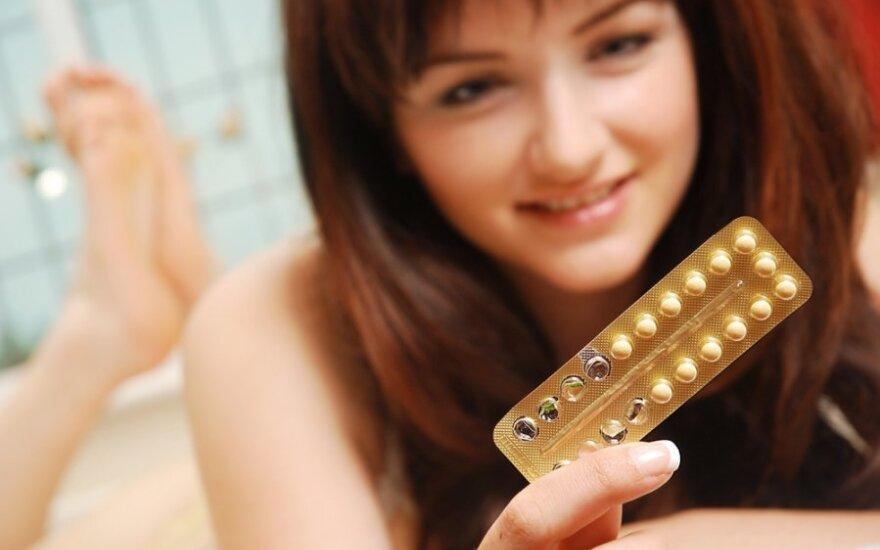 Ar kontraceptinės tabletės sukelia vėžį?