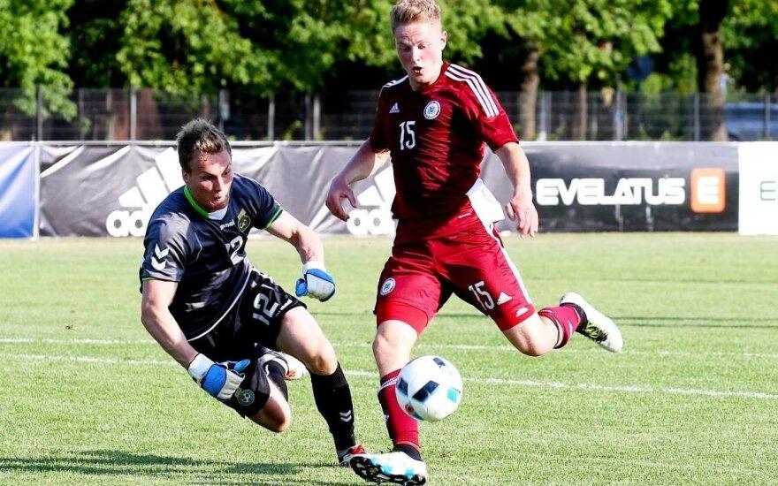 Futbolas: Latvija (U21) - Lietuva (U21)