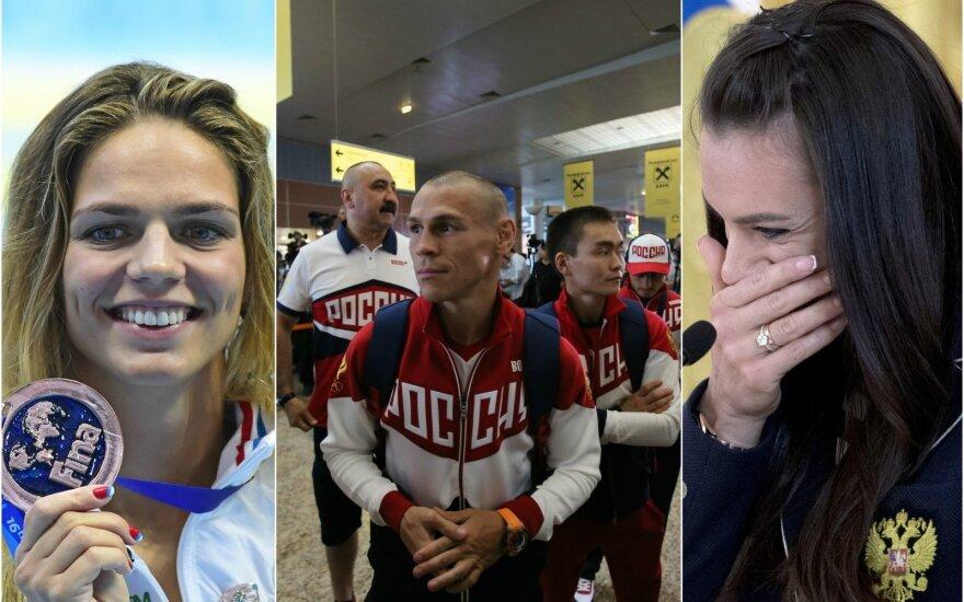 Julija Jefimova ar Jelena Isinbajeva nepapuoš Rusijos olimpinės rinktinės