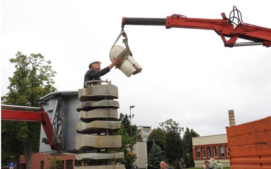 Atnaujinamas prieštaringų vertinimų sulaukdavęs Ignalinos fontanas