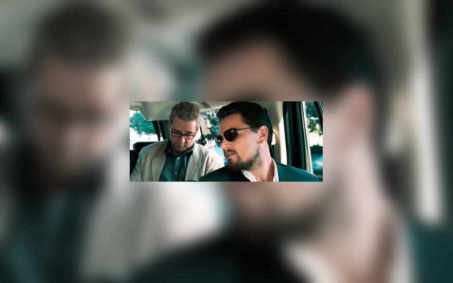 "Leonardo DiCaprio ir Russelas Crowe filme ""Melo pinklės"""