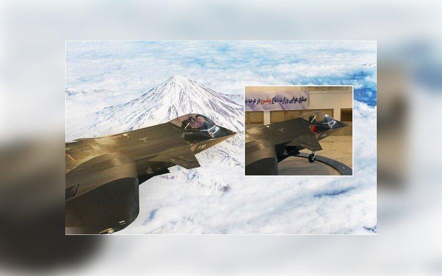 """Irano naikintuvas """"Qaher-313"""""""