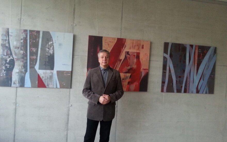 R. Garbačiausko parodos atidarymas