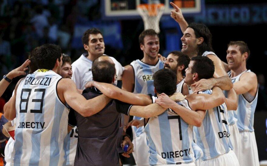 Argentinos krepšininkai