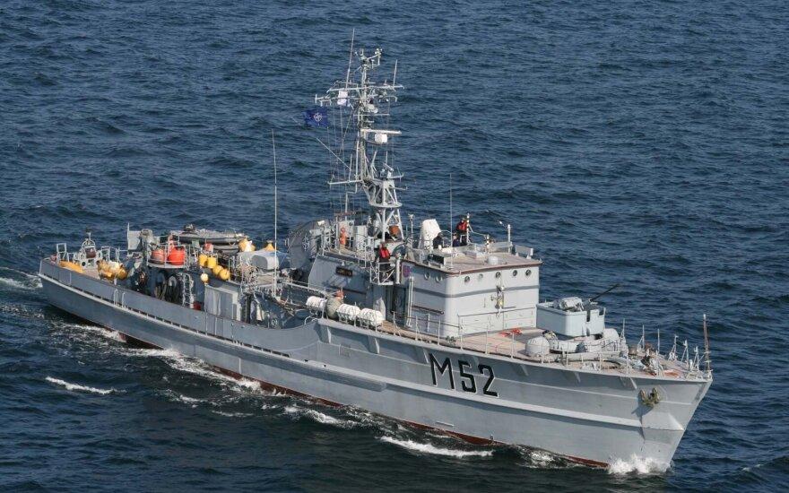 Klaipėdoje vyks Karinių jūrų pajėgų patrulinio laivo inauguracija