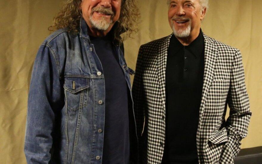 Robertas Plantas ir Tomas Jonesas
