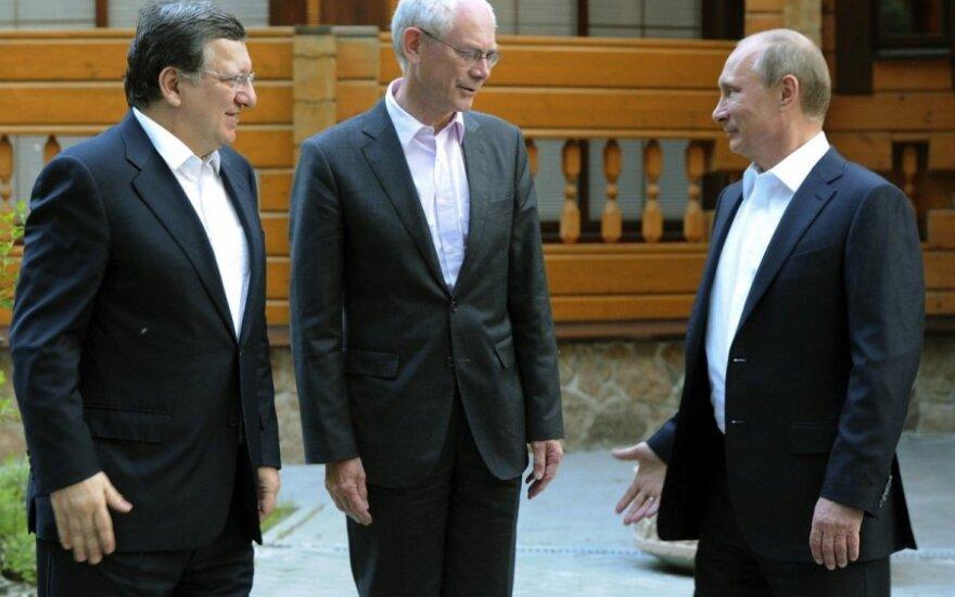 Jose Manuelis Barroso,  Hermanas Van Rompuy, Vladimiras Putinas