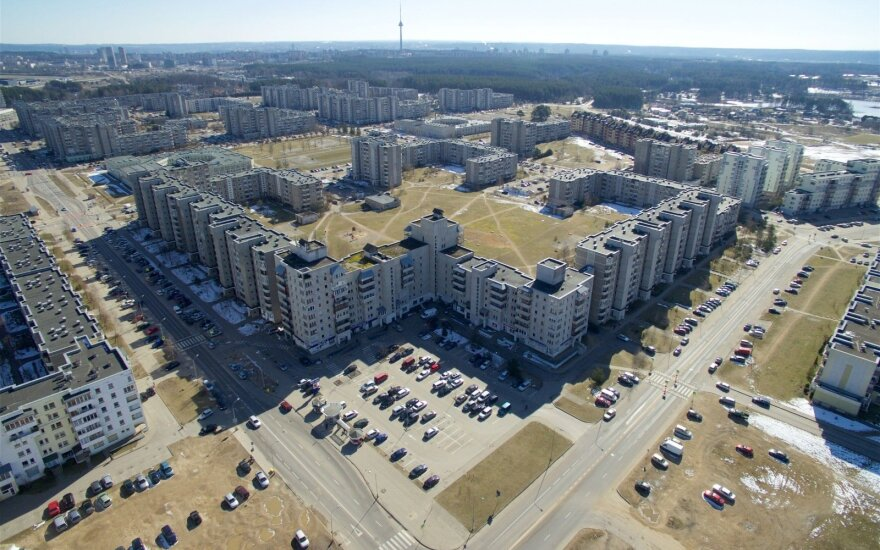 Property prices fall in Lithuania