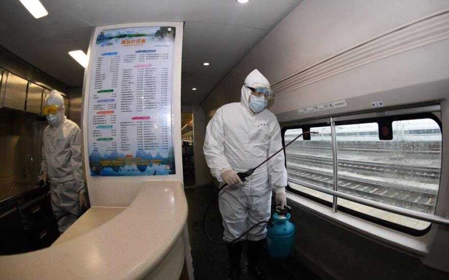 Japonijoje – dar šeši užsikrėtimo koronavirusu atvejai