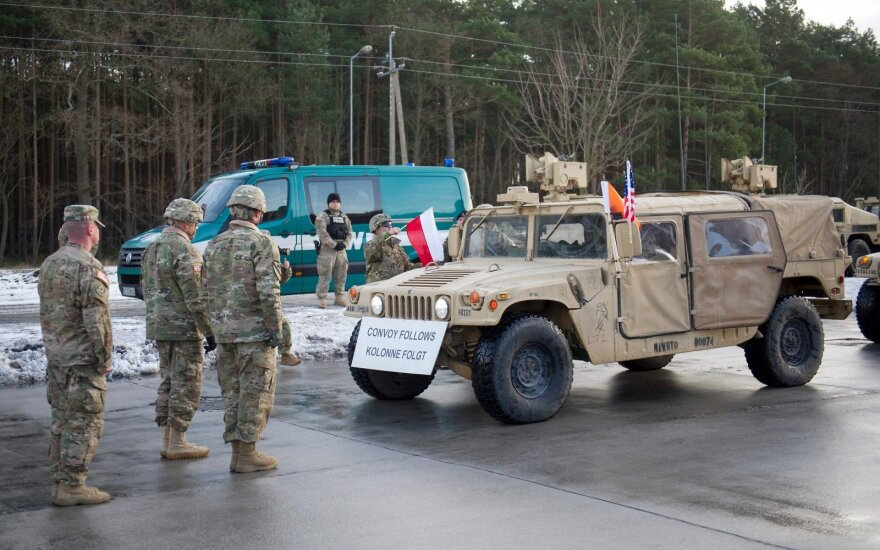 USA military in Poland