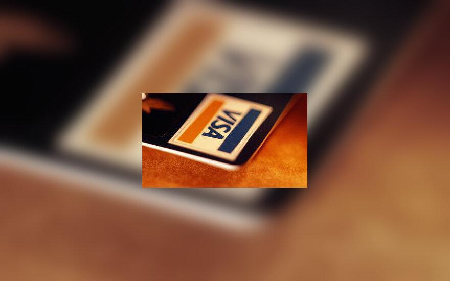 """""""Visa"""" mokėjimo kortelė"""