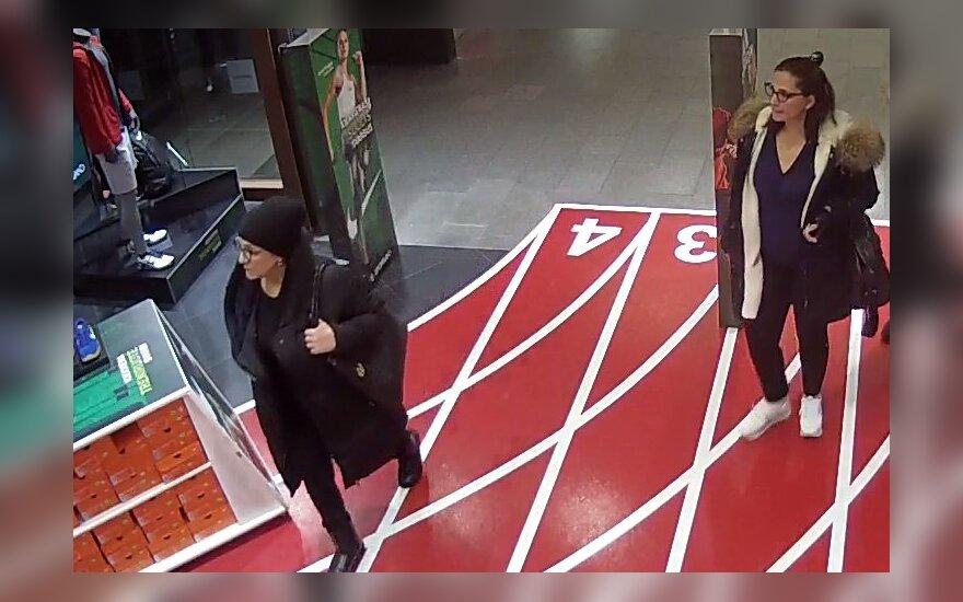 Nufilmuota vagystė Kaune: ieškomos nusikaltimą padariusios moterys