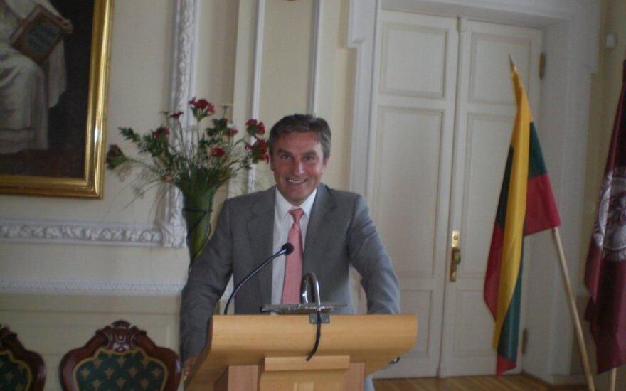 R.Cibauskas konferencijoje