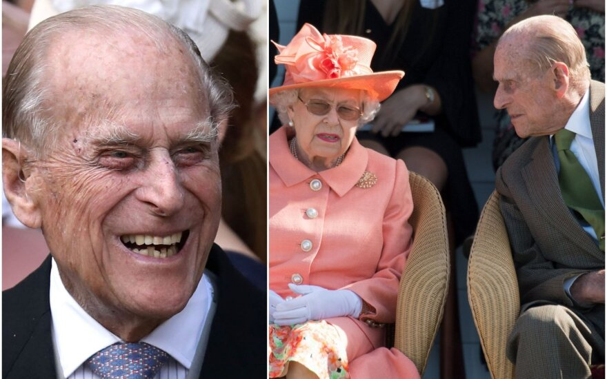 Princas Philipas ir Karalienė Elizabetha ll