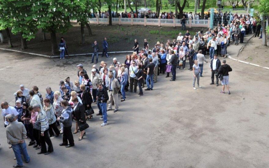 Po tariamo referendumo Ukrainoje – atsargus Kremliaus pareiškimas