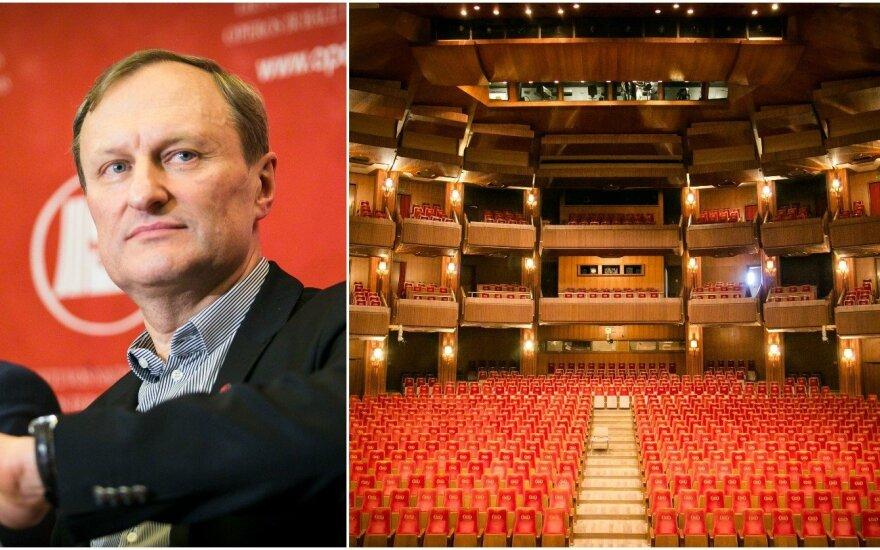G. Kėvišo vadovaujamo teatro užkulisiai: gyvenimas ten visai nesaldus