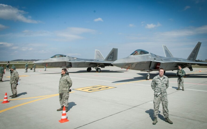 """F22 Raptors"" at the Zokniai"