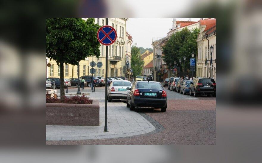Vilniuje, Didžioji g. 2010-08-17, 10 val.