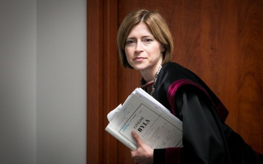 Teisėja Lidija Valentukonytė
