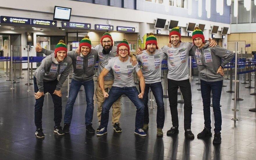 """""""Agrorodeo"""" ekipažas iškeliavo į 2019-ųjų Dakaro ralį"""