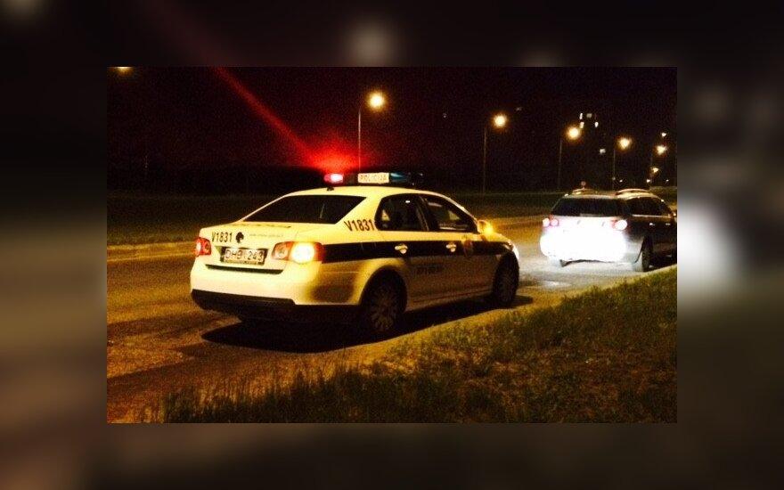 Vilniuje, Pilaitės pr., prieš važiuojantį automobilį iššoko stirna