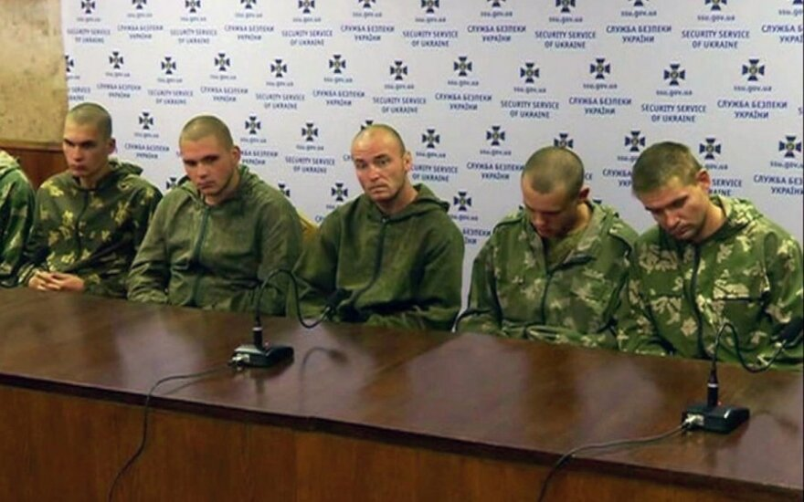 Rusijos desantininkai Ukrainoje