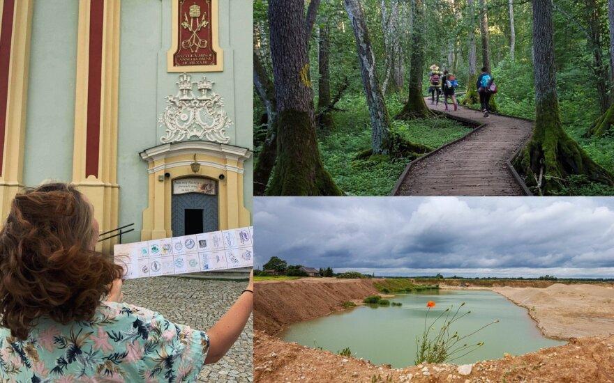Išskirtinę kelionę po Lietuvą išbandžiusi ukmergiškė: per 20 dienų aplankė gražiausius šalies kampelius, o išleido vos 300 eurų