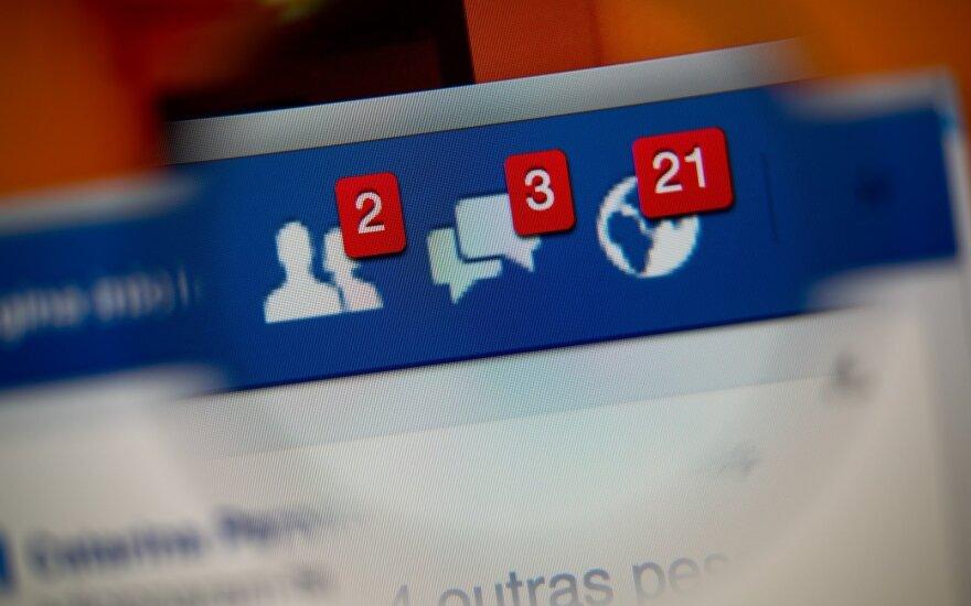 """""""Facebook"""" per šių metų rinkimus griežtins politinės reklamos taisykles"""