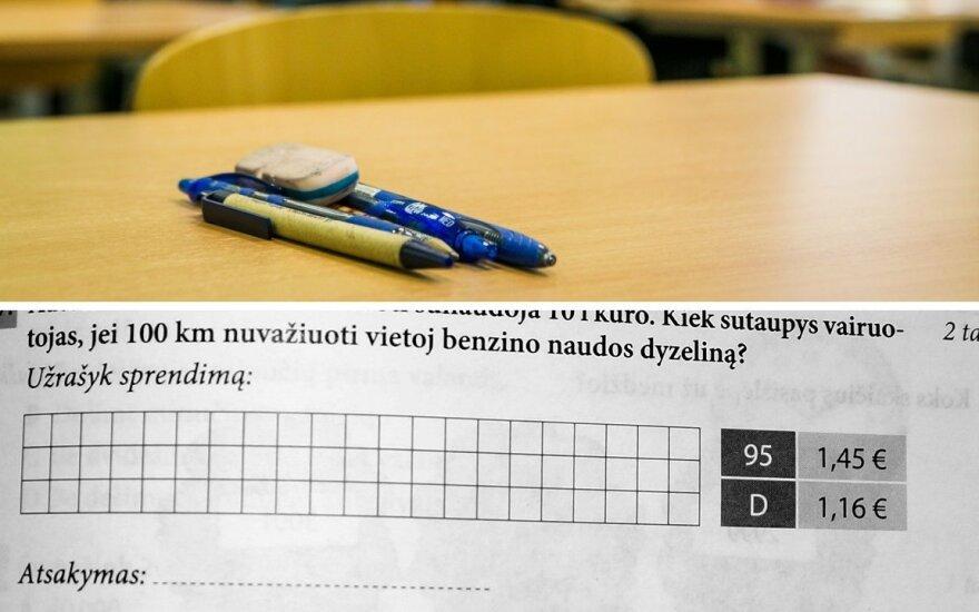 Namų darbams skirtas matematikos uždavinys supykdė tėvą: klausimas, ar aš sugebėčiau išspręsti