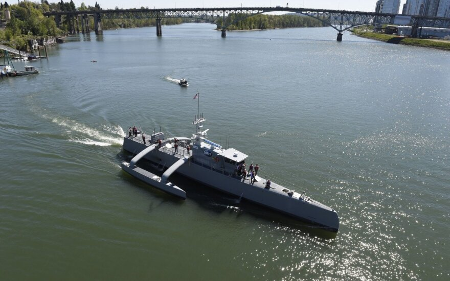 Laivas Sea Hunter