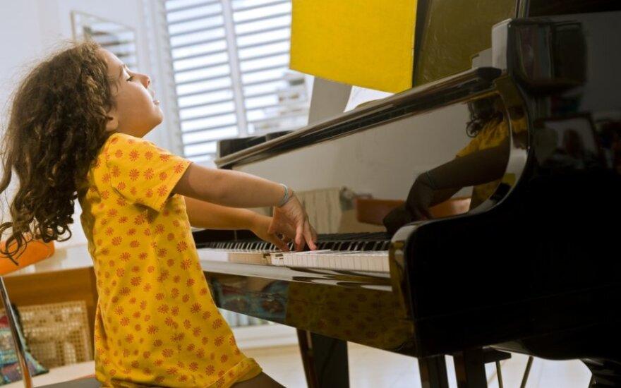 Penki mitai apie talentingus vaikus