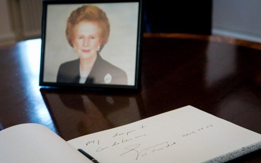 """Londone laukiama masinio """"vakarėlio"""" dėl buvusios premjerės M.Thatcher mirties"""