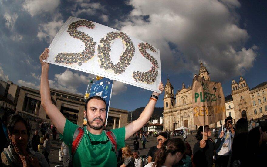 Aplinkosauginis protestas Kolumbijoje