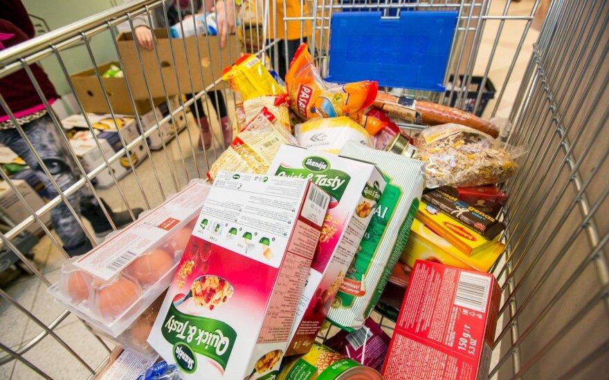 """""""Maisto banko"""" akcija: prie paramos maisto produktais prisideda ir didžiųjų miestų merai"""