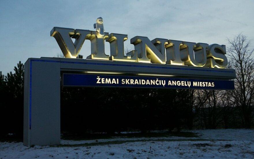 Ar Vilnius - žemai skraidančių angelų miestas?
