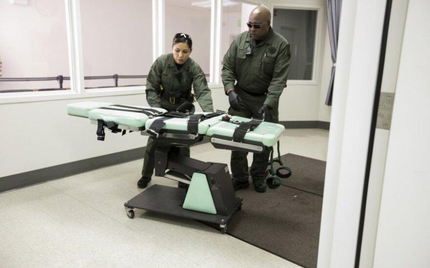 JAV federaliniu lygiu atnaujina mirties bausmės taikymą