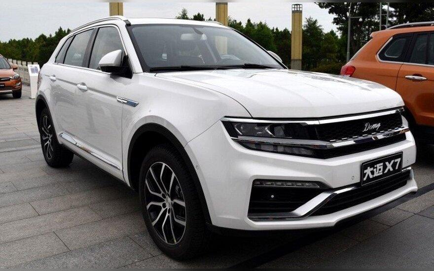"Kinai nukopijavo ""Volkswagen Tiguan"" automobilį"