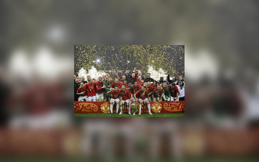 """""""Manchester United"""" - Čempionų lygos nugalėtojai"""