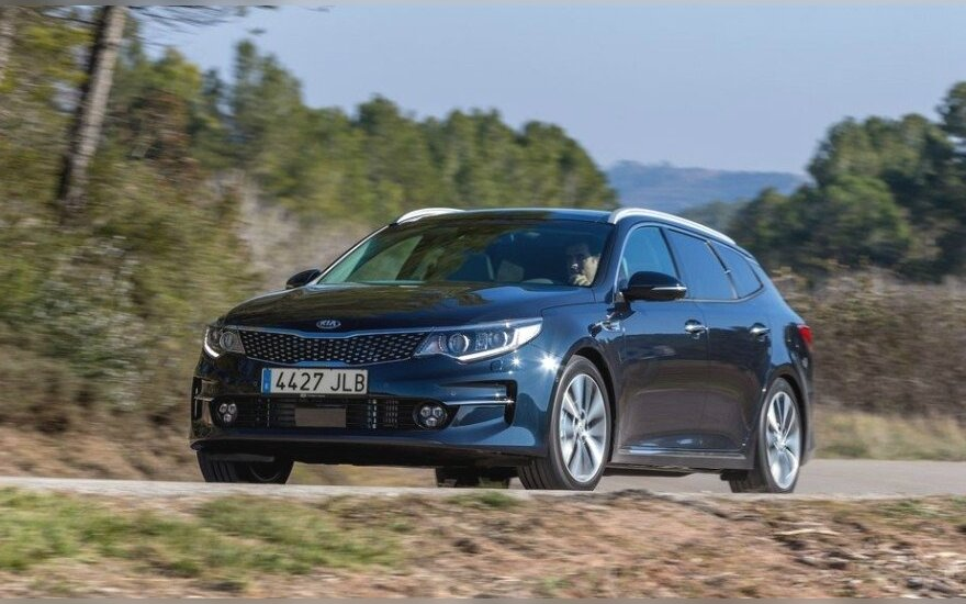 """Kia Optima Sportwagon"""