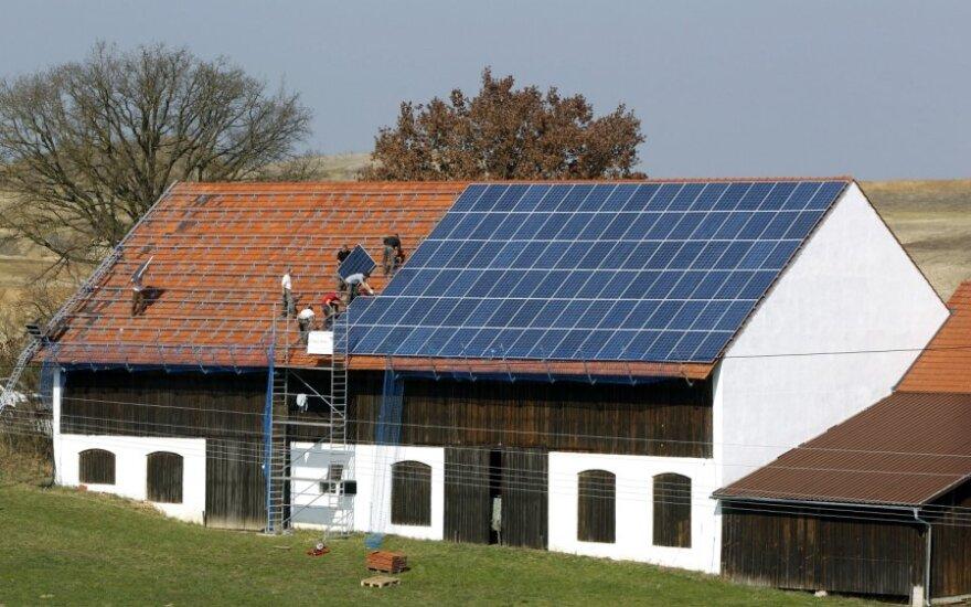 Saulės baterijos, saulės energetika, saulės elektrinės