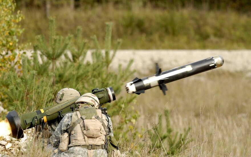 Javelin anti-tank missile. Photo Wikipedia