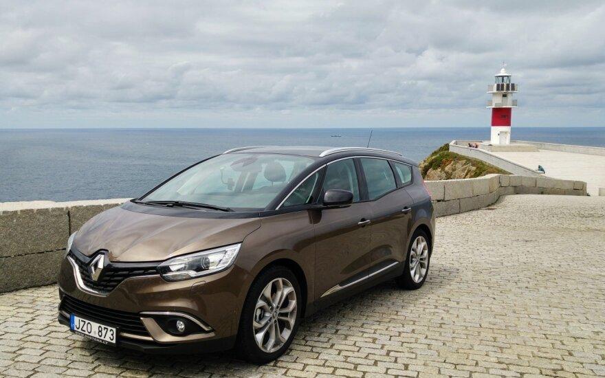"""9000 km kelionei pasirinkome """"Renault Grand Scenic"""""""